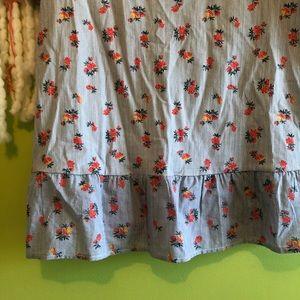 ASOS Tops - asos floral & striped peplum top